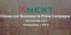 Equinvest chiude prima campagna con Xnext