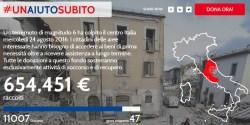 UnAiutoSubito crowdfunding per terremoto italia record di raccolta
