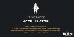 Musicraiser crowdfunding musica programma di accelerazione con Believe