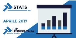 P2P lending Italia statistiche Aprile 2017