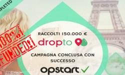 Dropto successo equity crowdfunding su Opstart
