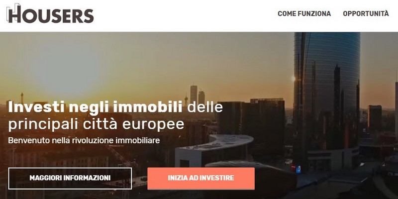 Housers lending crowdfunding real estate apre in Italia