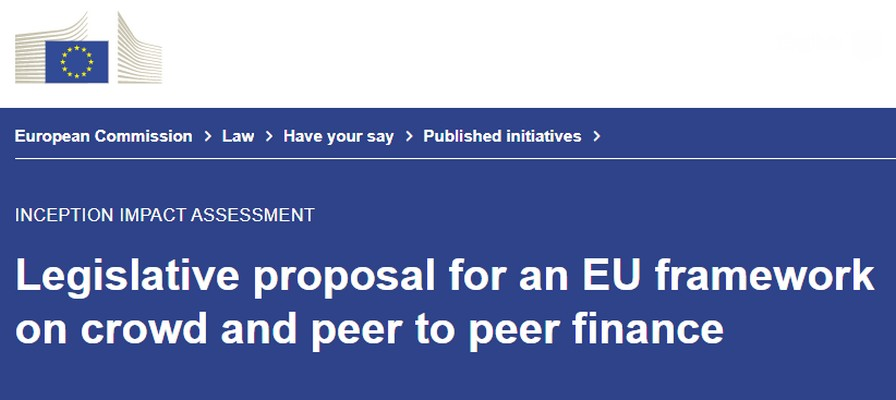 La commissione europea vuole facilitare gli investimenti cross-border con equity e lending crowdfunding