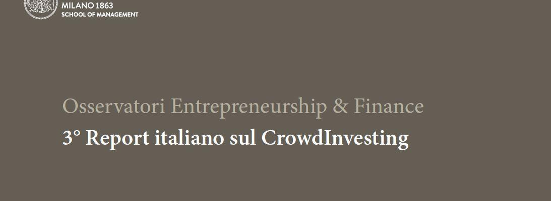 A Milano il più atteso evento sul Crowdinvesting: la presentazione del 3° report italiano