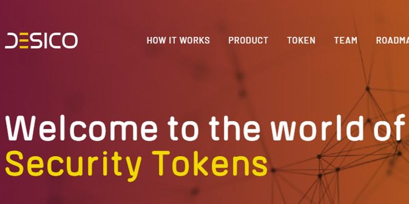 Desico lancerà piattaforma per ICO di security token