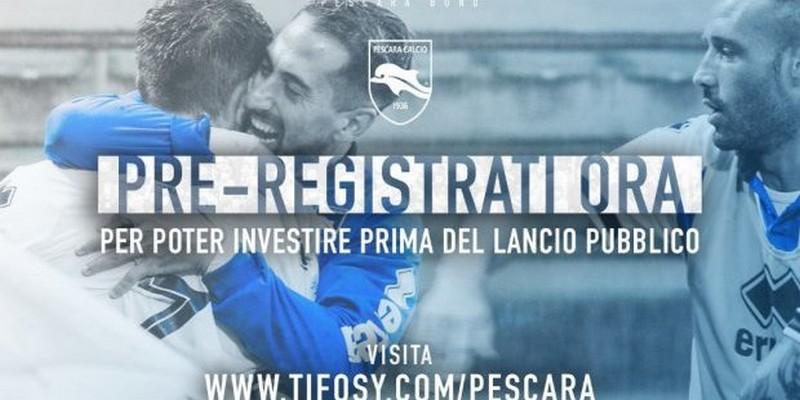 Calcio e crowdfunding: il Pescara lancerà una campagna di P2P lending su Tifosy