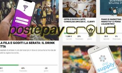 PostePay Crowd cinque nuove campagne reward crowdfunding
