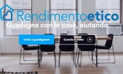 Rendimento Etico nuova piattaforma di lending crowdfunding immobiliare