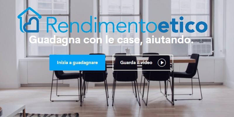 Presentata Rendimento Etico, nuova piattaforma di lending crowdfunding immobiliare