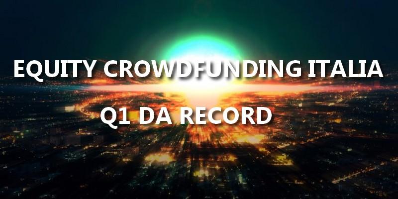 Equity Crowdfunding Italia record Q1 2019