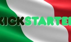 Kickstarter parla italiano
