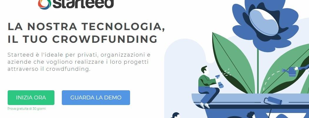 Grazie a Starteed ora chiunque può creare una campagna di crowdfunding sul proprio sito