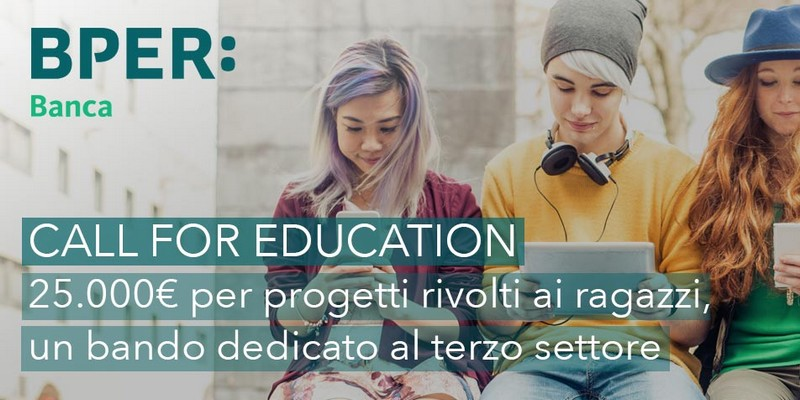 Call for education BPER Banca crowdfunding