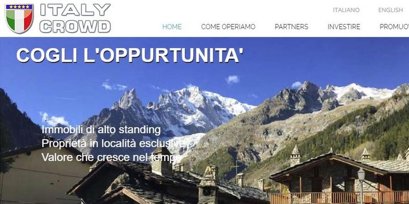 Italy Crowd piattaforma crowdfunding immobiliare round equity crowdfunding