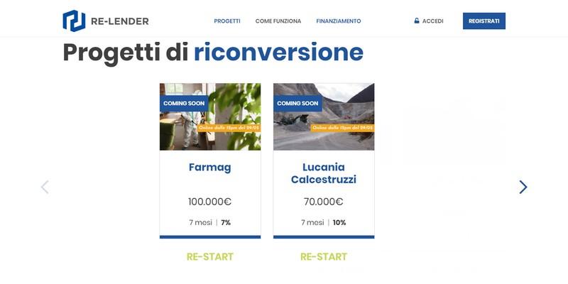 Re-lender lancia campagne lending crowdfunding per finanziare PMI