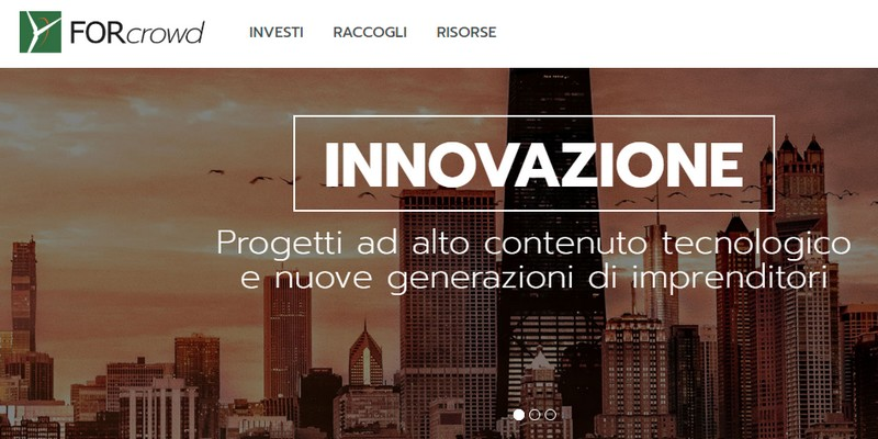 Forcrowd al via nuova piattaforma equity crowdfunding
