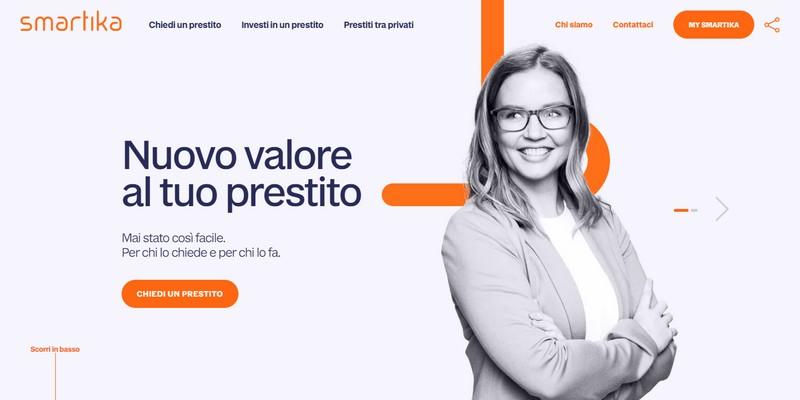 Smartika (Gruppo Sella) rinnova la sua piattaforma di P2P lending in modalità open banking
