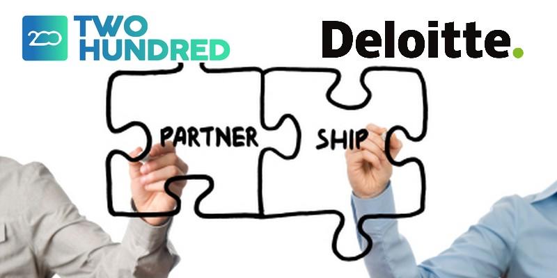 Partnership 200Crowd Deloitte