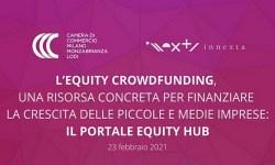 Convegno Innexta equity crowdfunding Febbraio 2021