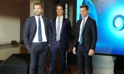 Da sinistra, Paolo Martini, Marco Montagnani e Giorgio Medda
