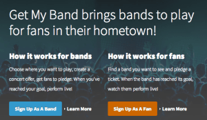 Get My Band Crowdfunding for Bands
