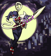 Squigly from SkullGirls on Indiegogo