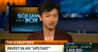Paul Gu on CNBC founder of UPstart