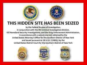 Silk Road Seized by FBI