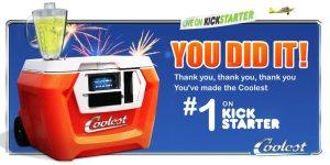 Coolest Cooler Number One on Kickstarter