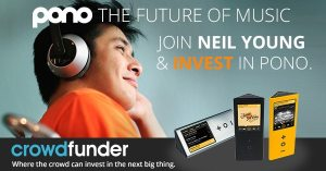 Join Neil Young and Pono on Crowdfunder