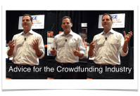 Ron Suber Advice for the Crowdfunding Industry