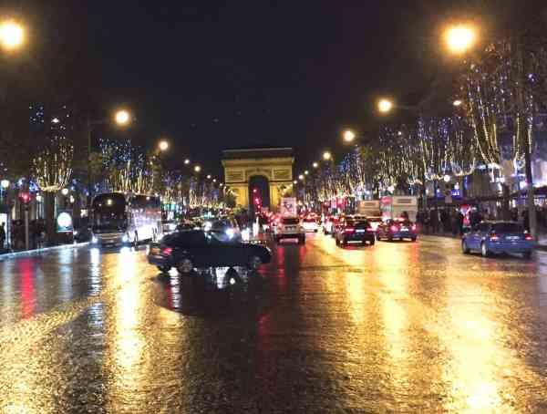 France Paris Champs Elysee Arc du Triomphe