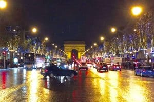Paris France Champs Elysee Europe