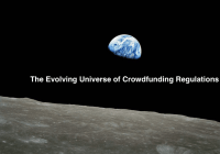 The Evolving Universe of Crowdfunding Regulations