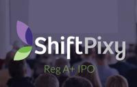 ShiftPixy Reg A+ IPO