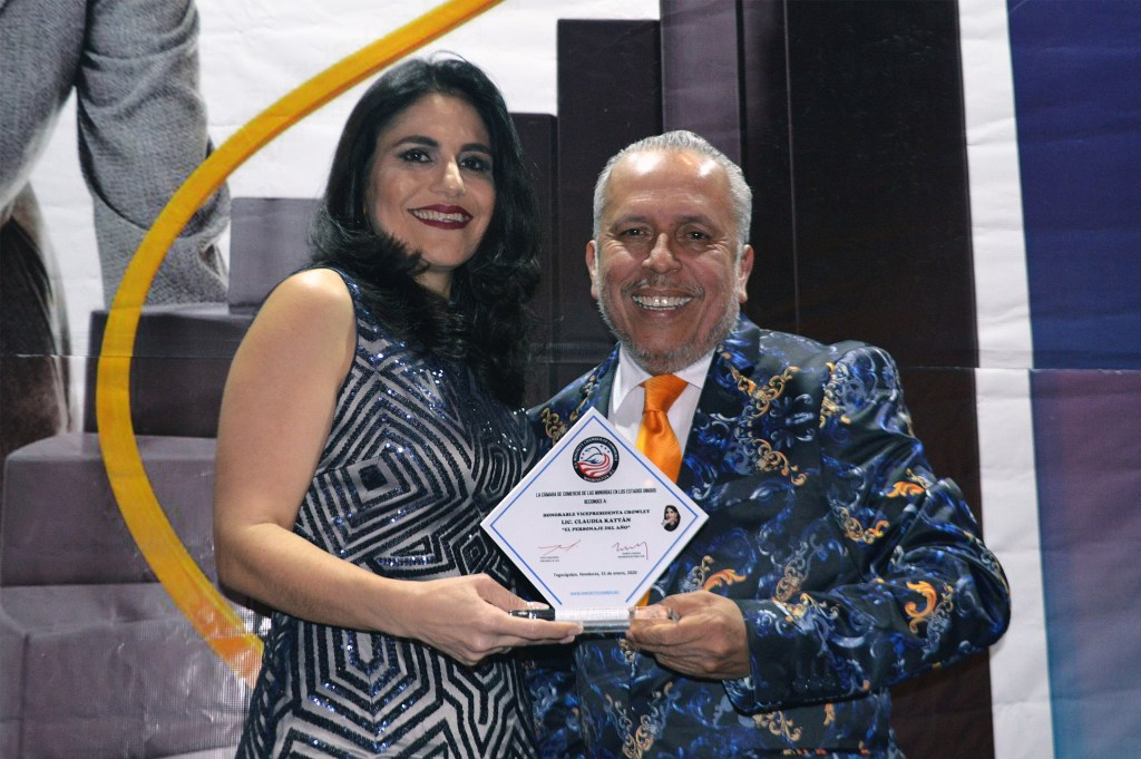 "Claudia Kattán-Jordán, vice president, Central America, was recently named 2020 ""Person of the Year"" by the U.S. Minority Chamber of Commerce at the XXI Women's Global Leadership Summit"