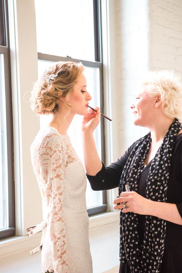 crown and halo wedding hair and makeup in portsmouth nh