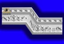 Gypsum Plaster Cornis Strip Decoration and Design M-22