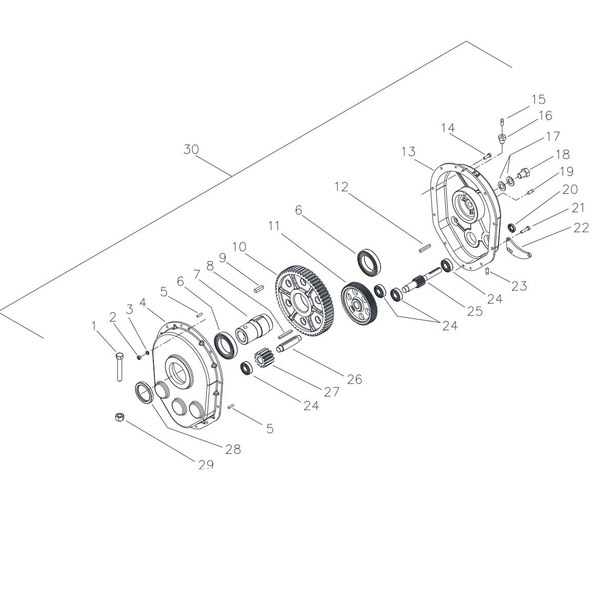 S10 S Crown Construction Mortar Mixer Parts
