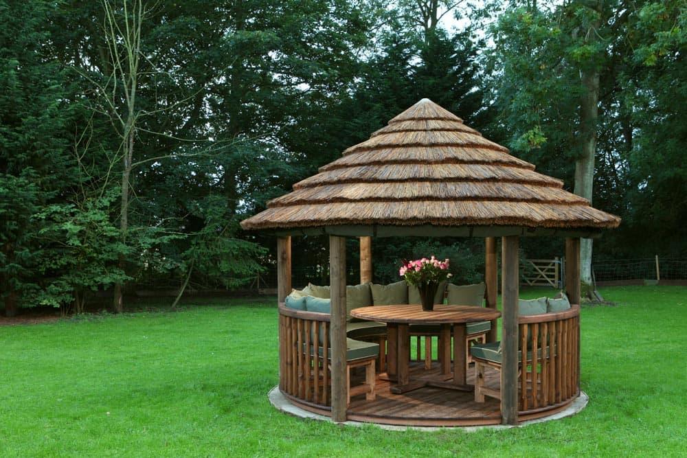 Edward Luxury Wooden Gazebo | Outdoor Garden Pavilion on Outdoor Patio Pavilion id=34947