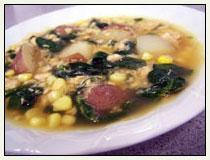 Spring Salmon Soup