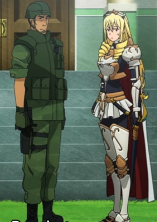Kengun treated Boozes as an equal; just as she treated him. Capture from the Crunchyroll stream.