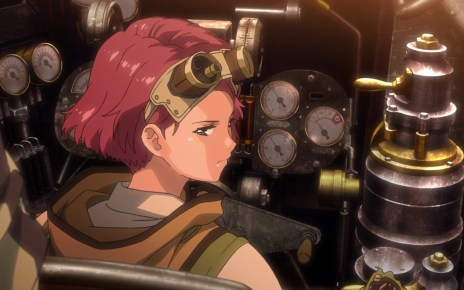 Kabaneri of the Iron Fortress Episode 2: Yukina keeps her wits about her.