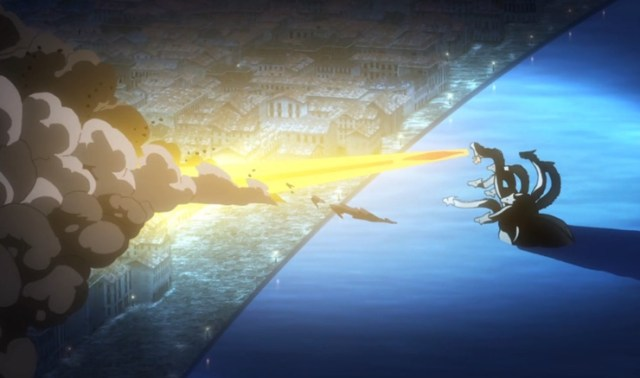 The Asterisk War Episode 24: Great. The hydra has ranged attacks!