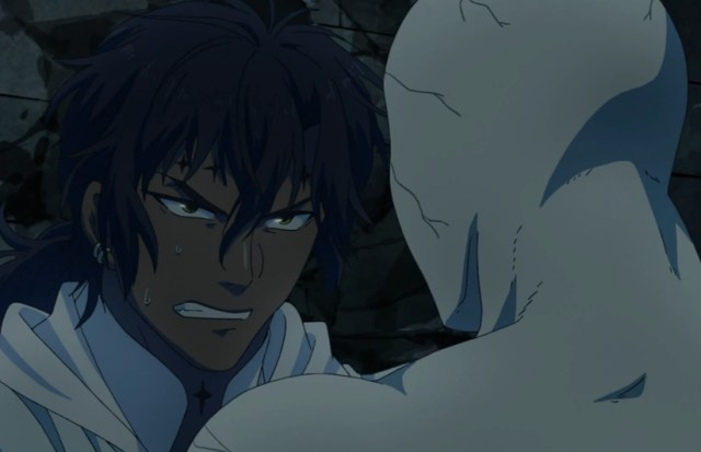 Tyki held his own -- for a while. Capture from the Crunchyroll -- yes, Crunchyroll! -- stream.