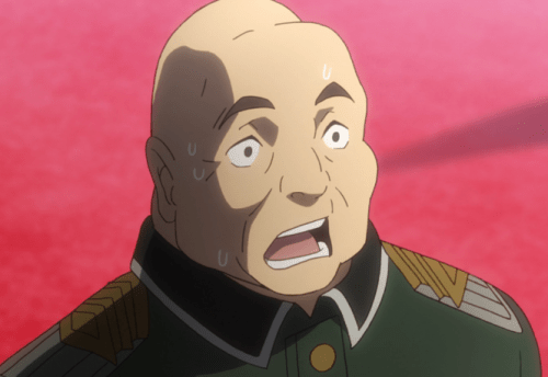 """Even Grosskopf was like, """"Peerage without land? How's that work?"""" Capture from the Crunchyroll stream."""