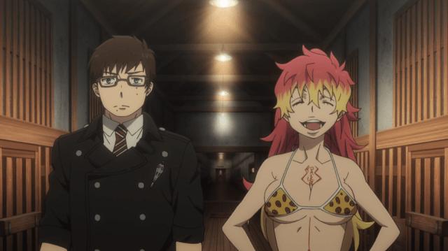 Blue Exorcist Kyoto Saga Episode 5: Kurikara laughed off Yukio's profession of hatred