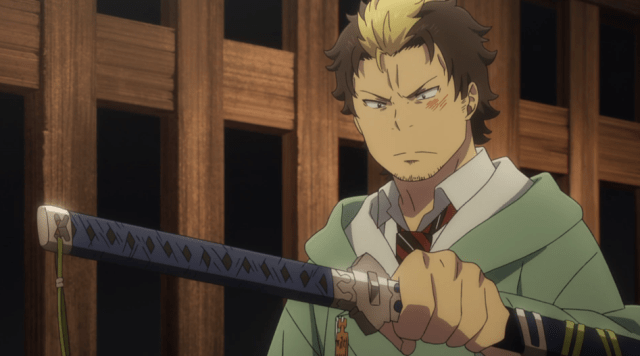 Blue Exorcist Kyoto Saga Episode 7: Ryuji was more angry that Rin didn't trust him