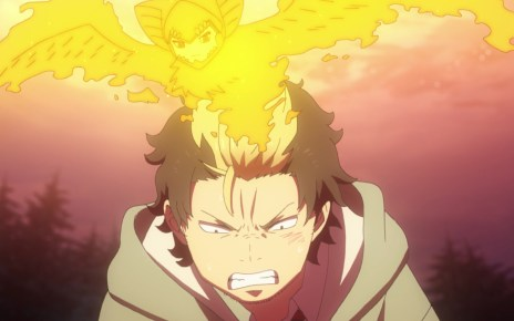 Blue Exorcist Kyoto Saga Episode 9: Ryuji creates a barrier