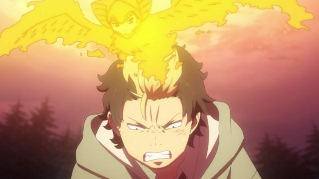 Blue Exorcist Kyoto Saga Episode 9: Ryuji creates a barrier